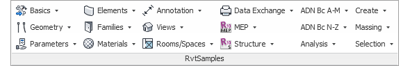RvtSamples including The Building Coder samples for Revit 2015
