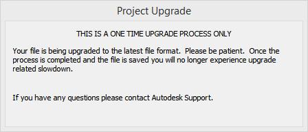 Upgrade message