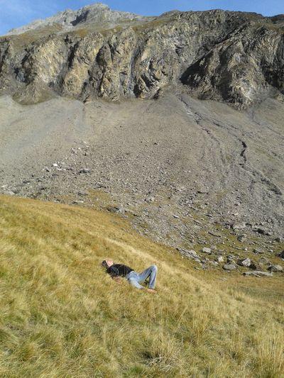 Relaxing at the Flueseeli