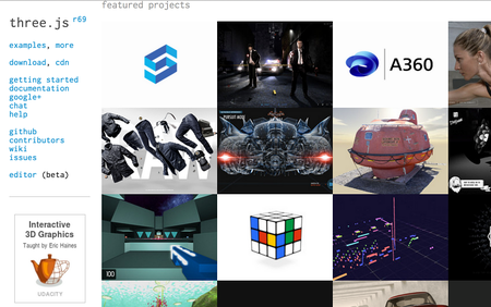 Autodesk on threejs.org