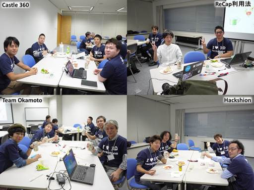 Japan hackathon teams