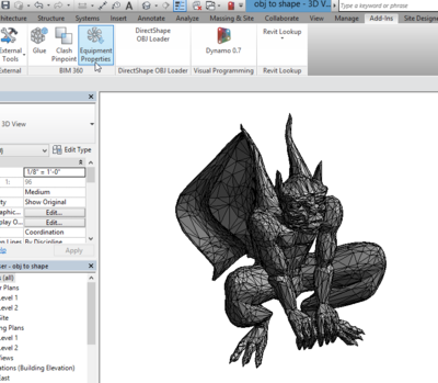 Gargoyle in Revit
