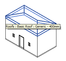 Little house roof