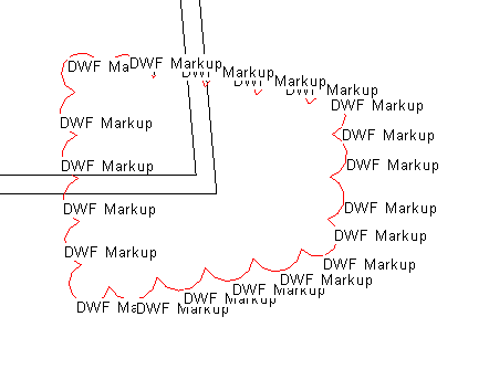 Text notes added based on DWFX markup location
