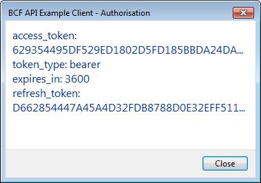 BIM-IT access token