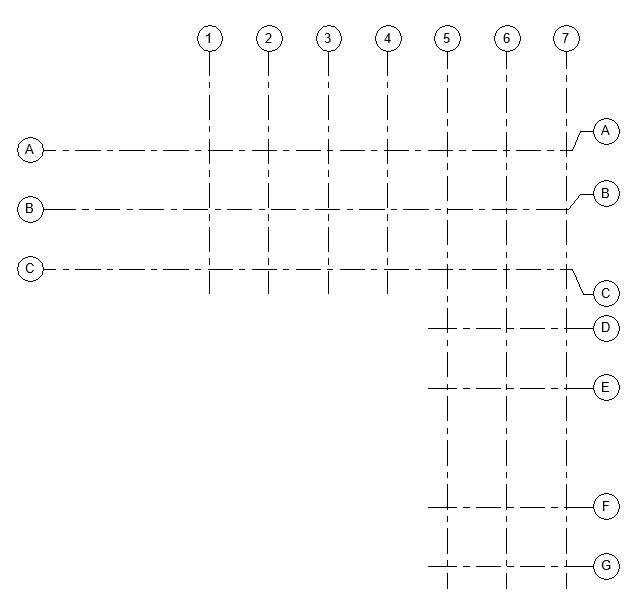 Grids in rac_basic_sample.rvt
