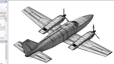 Cessna in Revit