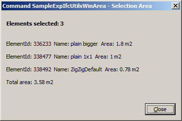 ExporterIFCUtils sample result