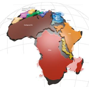 Africa is big