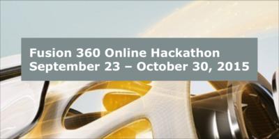 Fusion 360 hackathon