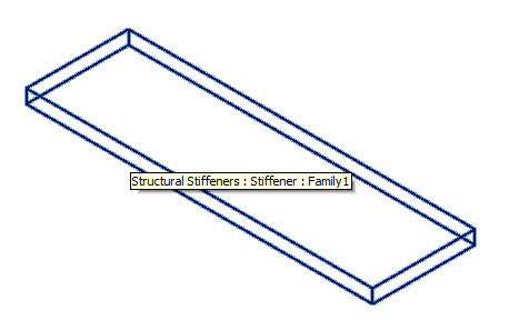 Revit 2014 stiffener family loaded from memory with family name