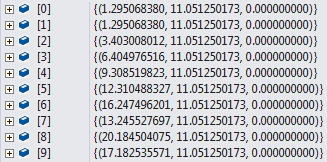 Intersection points returned by ReferenceIntersector.Find