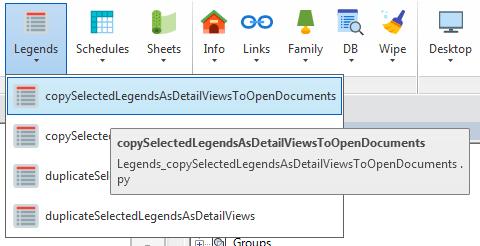 Copy legends