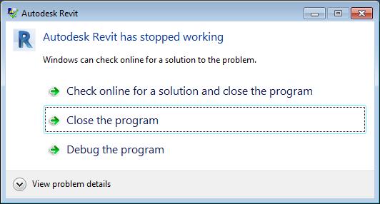 Debugging Revit 2017 in Visual Studio 2015