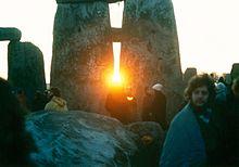 Sunrise at Stonehenge on the Winter Solstice
