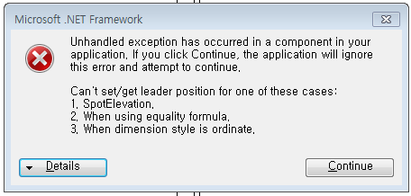 RevitLookup spot dimension error