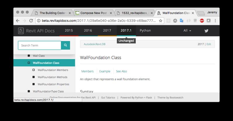 Revit API Docs 2.0 Beta