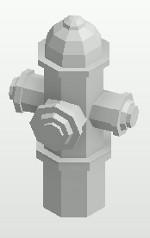 Fire hydrant DirectShape element in Revit