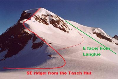 Alphubel 4201 m