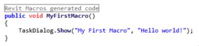 Macro source code