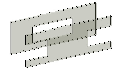 Wall openings at wall ends