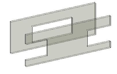 Wall openings at wall ends