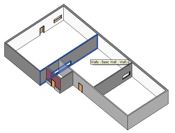 Test model 3D view