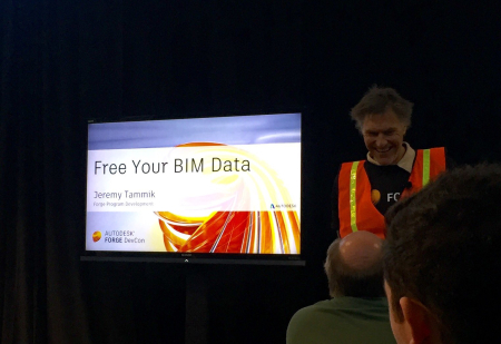Jeremy freeing BIM data