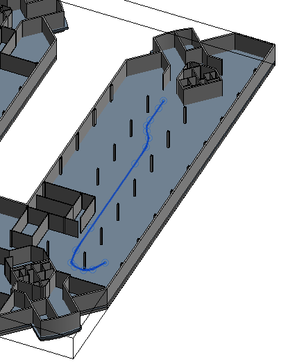 HoloGuide exit path 3D view