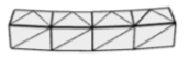 Curved wall opening tessellation