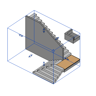 3D view section box