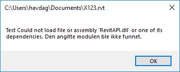 Revit API required