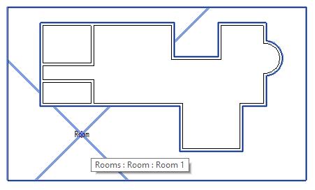 Room around building