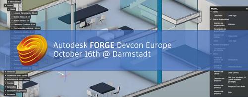 Autodesk Forge Devcon Europe 2018