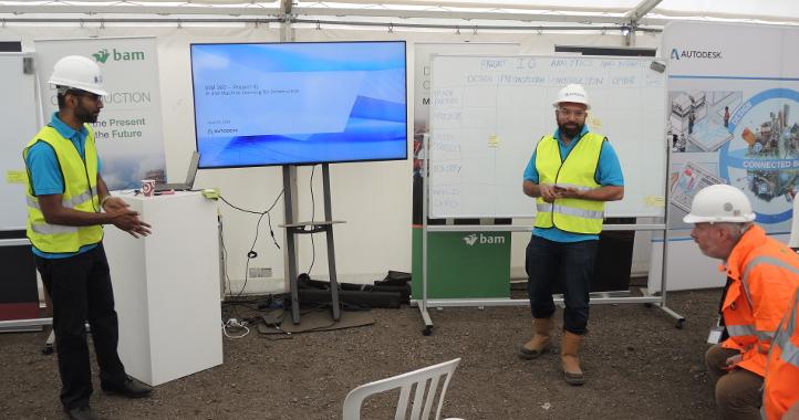 Manu and Az at BAM Digital Construction Live