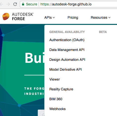 Forge APIs