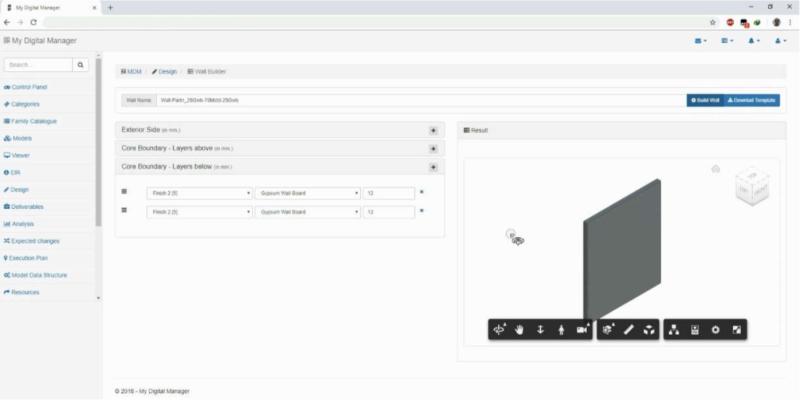 Creating Revit system Families using Revit.io