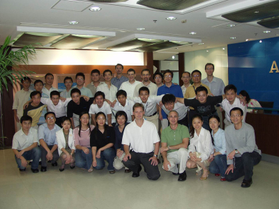 Zhong October 2005, some of Manchester team visited Shanghai ACAD BSD team