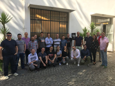 Roma accelerator participants lacking Jeremy