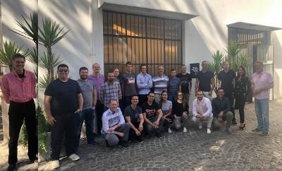 Roma accelerator participants plus Jeremy