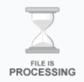 File is processing...