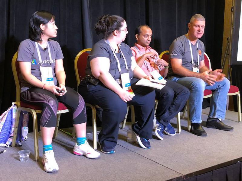 2018-11-Revit API Panel at AU in Las Vegas