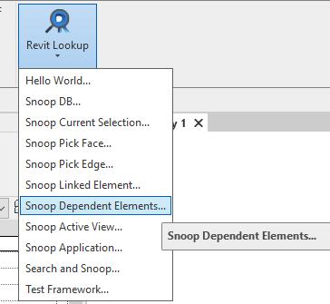 Snoop dependent elements