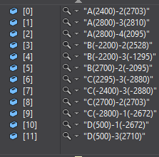Graphical column schedule sort order in C#