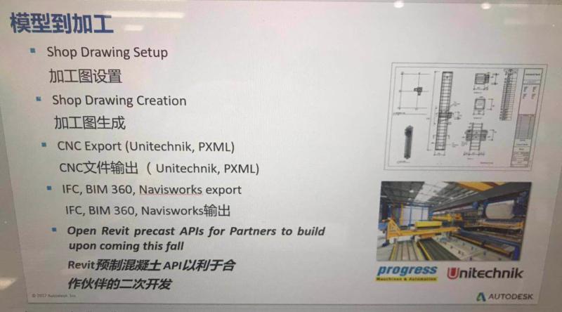 Precast API slide