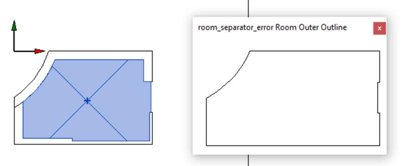 Room separator sample loop
