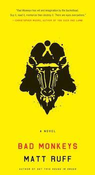 Bad Monkeys book cover