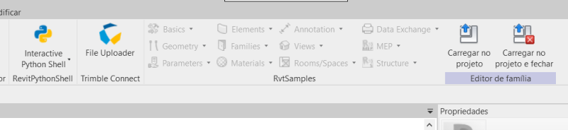 RvtSamples greyed out