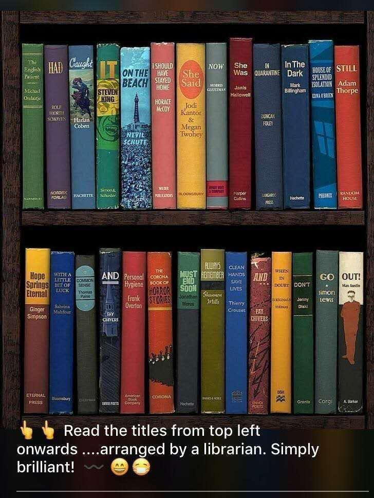 A librarian's take on Corona