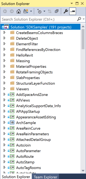 Revit 2021.1 SDK samples